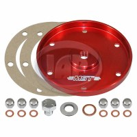 MST Oil Sump Plate Red
