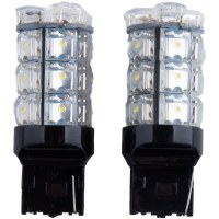 1156 LED White Pair