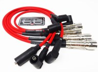 Ignition Wire Set - Van 83-91 Red