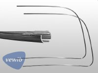 Front Windshield Trim T1 65-77 STD LH & RH - PREMIUM