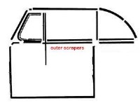 Outside Scraper 65-79 Pair