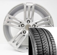 "17"" Winter Wheel Tire Set TIGUAN to 2017"