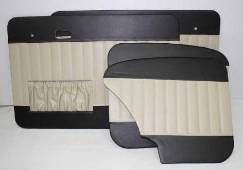 65-66 T1 Door Panels Two-Tone