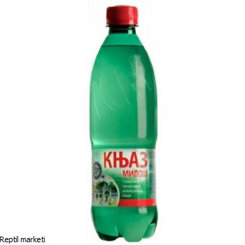 Knjaz Milos-Газирана вода 0,5l