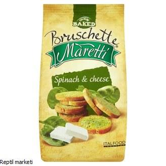 Bruschette -Спанаќ сиреење 70g