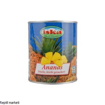 Iska - Ананас парчиња 850g