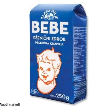 BEBE-Пченичен гриз 250 gr