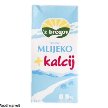 ZBREGOV  - Млеко + калциум 2l