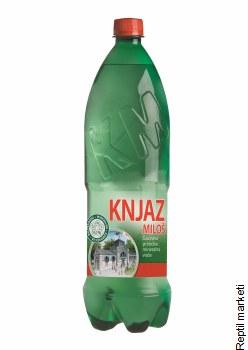 Knjaz Milos-Газирана Вода1.25l