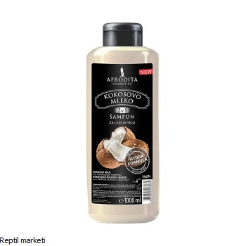 Afrodita-Кокосово млеко Шампон