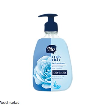 Teo Delicate Rose-Сапун 400ml