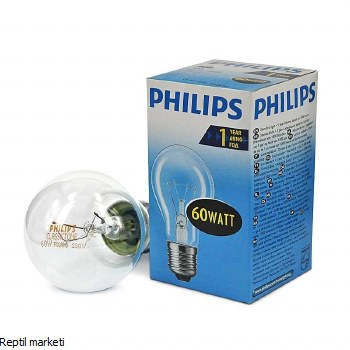 Philips-Сијалица бистра 60W