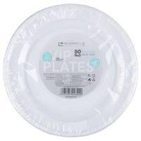 Пластични чинии 21см 50/1