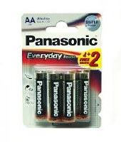 PANASONIC  AA  1,5 V 4+2