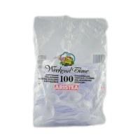 Пластични лажици за кафе 100/1