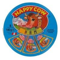 Happy cow-Топено сирење Шунка
