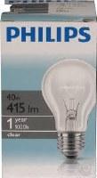 Philips-Сијалица бистра 40W
