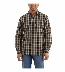 Men's Fort Plaid Long Sleeve Shirt