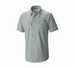 Men's Silver Ridge Multi Plaid Short-Sleeve Shirt
