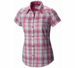 Women's Silver Ridge Multi Plaid Short Sleeve Shirt