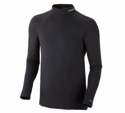 Men's Baselayer Midweight Mock Neck Long Sleeve Top