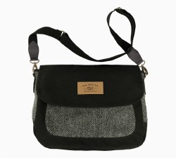 The Companion Purse with Harris Tweed