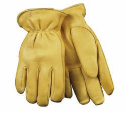 Golden Premium Full Grain Deerskin Glove w/ Heatkeep Thermal Insulation