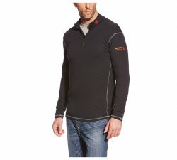 Men's Fire Resistant Polartec 1/4 Zip