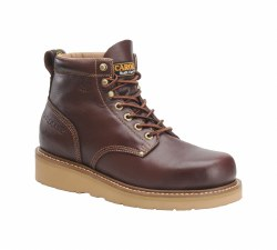 Men's 6-inch Broad Toe Wedge Work Boot