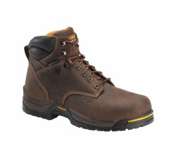 Men's 6-inch Waterproof 400G Insulated Broad Toe Work Boot