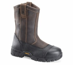 Men's 10-inch Waterproof Composite Broad Toe Wellington