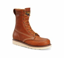 Men's 8-inch Domestic Moc Toe Wedge Work Boot