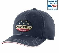 Men's Flag Patch Cap