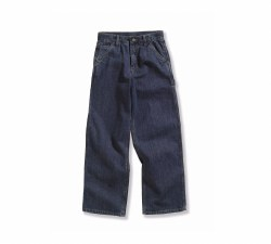 Boys' Washed Denim Dungaree