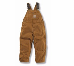 Boys' Duck Washed Bib Overall