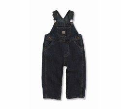 Boys' Infant/Toddler Washed Denim Bib Overalls