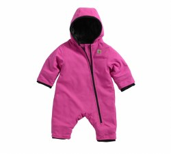Girl's Quick Duck Snowsuit Taff Lined
