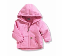 Girl's Redwood Jacket-Sherpa Lined