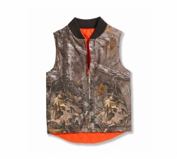Boys' Reversible Camo Vest
