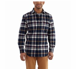 Men's Hubbard Classic Plaid Long-Sleeve Shirt
