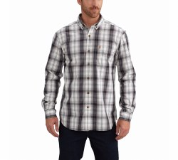 Men's Essential Plaid Button Down LS Shirt