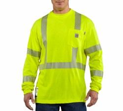 Men's FR High Vis Long Sleeve T-Shirt