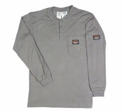 Men's Henley T-Shirt - GTF454/FR010GY