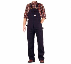 Men's Made in USA Heavy Duty Duck Bib Overalls