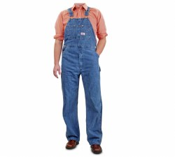 Men's Made in USA Denim Overalls