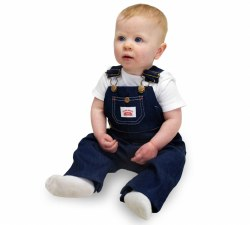 Kids Made in USA Genuine Premium Bib Overall