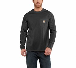 Men's Force Cotton Delmont Long-Sleeve T-Shirt