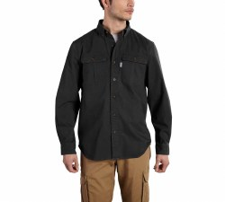 Men's Foreman Solid Long-Sleeve Work Shirt