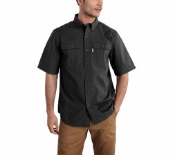 Men's Foreman Solid Short-Sleeve Work Shirt