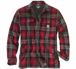 Men's Hubbard Sherpa-Lined Shirt Jac